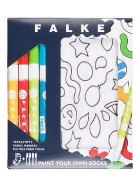 FALKE Strümpfe PAINT mit Textilstiften