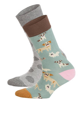 DillySocks 2er-Pack Strümpfe DOGGY DOG - CONCRETE LINE