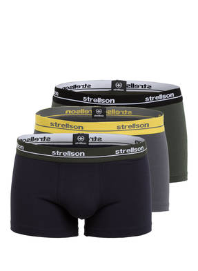 strellson 3er-Pack Boxershorts