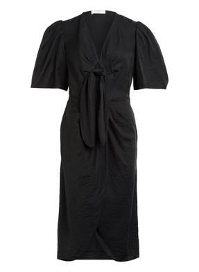 sandro Kleid mit Leinen