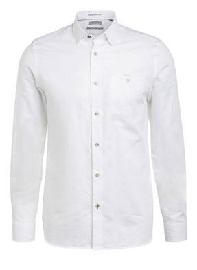 TED BAKER Hemd TIPTOE Extra Slim Fit mit Leinen