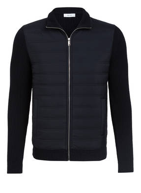 REISS Strickjacke TRAINER im Materialmix
