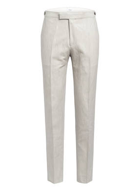 REISS Kombi-Hose WELL Slim Fit mit Leinen