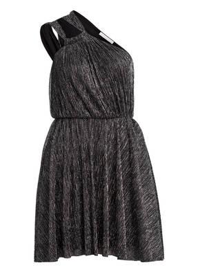 maje One-Shoulder-Kleid RIANE mit Glitzergarn