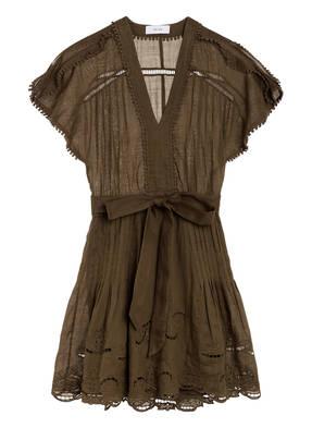 REISS Kleid GEMINA mit Lochstickerei