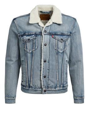 Levi's® Jeansjacke SHERPA mit Kunstfellbesatz