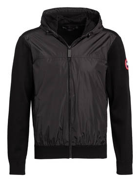 CANADA GOOSE Strickjacke im Materialmix WINDBRIDGE