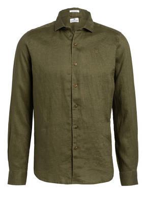 DSTREZZED Leinenhemd Regular Fit