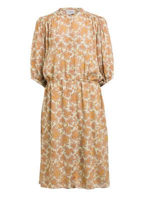SECOND FEMALE Kleid MULLE mit Seide und 3/4-Arm