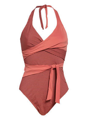 BEACHLIFE Neckholder-Badeanzug DUSTY CEDAR