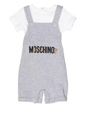 MOSCHINO Set: Latzhose und T-Shirt