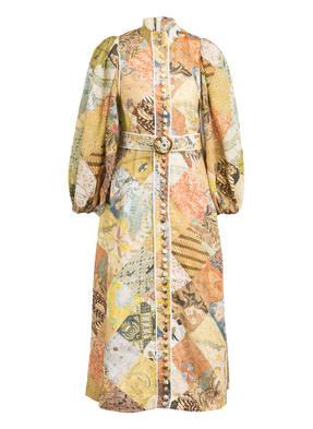 ZIMMERMANN Hemdblusenkleid BRIGHTSIDE aus Leinen