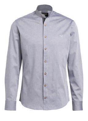 CocoVero Trachtenhemd FINLEY Slim Fit mit Leinenanteil
