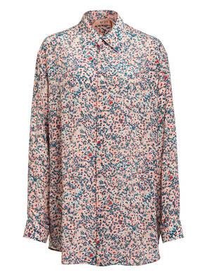N°21 Oversized-Hemdbluse aus Seide