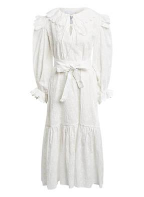 HORROR VACUI Kleid mit Stickereien