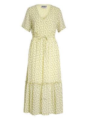 JUST FEMALE Kleid PERCY mit Rüschenbesatz