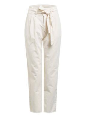 SET 7/8-Jeans mit Leinen