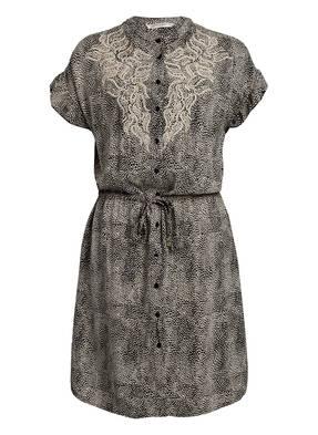 summum woman Hemdblusenkleid mit Schmucksteinbesatz