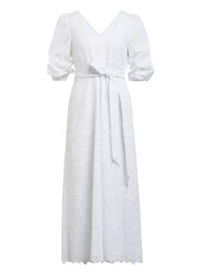 IVY & OAK Kleid mit 3/4-Arm aus Lochspitze