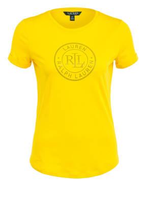 LAUREN RALPH LAUREN T-Shirt mit Schmucksteinbesatz