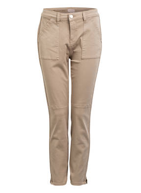 TED BAKER 7/8-Jeans COMBAT mit Galonstreifen