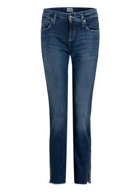 CAMBIO 7/8-Jeans TESS mit Schmucksteinbesatz
