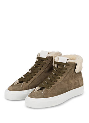 CLOSED Plateau-Hightop-Sneaker SANDY