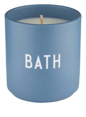 DESIGN LETTERS Duftkerze BATH