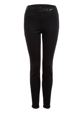 MARC CAIN Skinny Jeans mit Schmucksteinbesatz