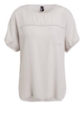 MARCCAIN T-Shirt mit Schmucksteinbesatz
