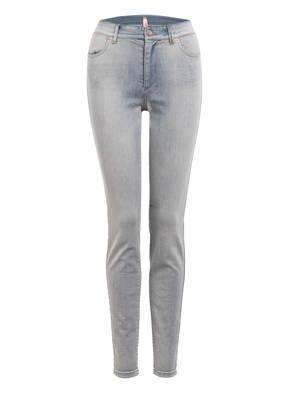 MARCCAIN Skinny Jeans mit Schmucksteinbesatz