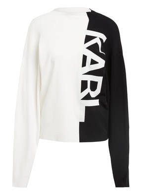KARL Pullover PUFFY SLEEVE SWEATER