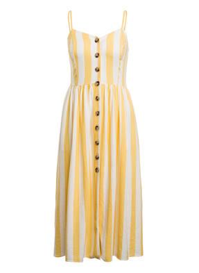 mavi Kleid mit Leinen