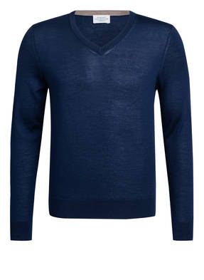 HACKETT LONDON Cashmere-Pullover mit Seide