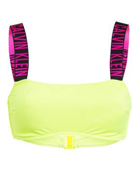 Calvin Klein Bustier-Bikini-Top INTENSE POWER