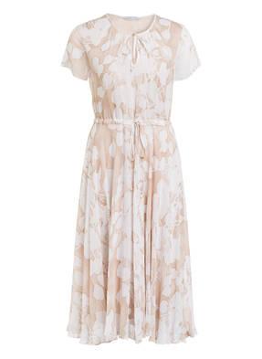 Neu Sommerkleid Carmen Kleid Tunika Streifen Off Shoulder 38 40 42 Blau D E277