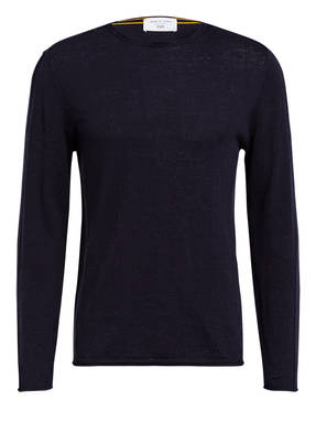 NEW IN TOWN Pullover mit Leinen