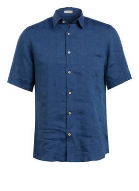SIGNUM Halbarm-Hemd Modern Fit aus Leinen