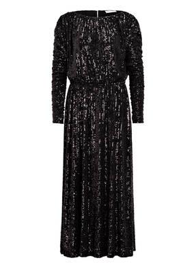SAINT LAURENT Kleid mit Paillettenbesatz