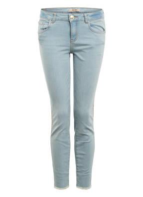 MOS MOSH 7/8-Jeans SUMMER FRAME mit Galonstreifen