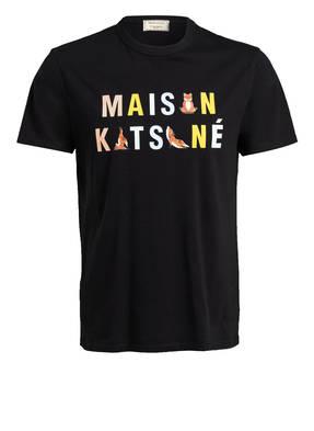 MAISON KITSUNÉ T-Shirt RAINBOW YOGA FOXES
