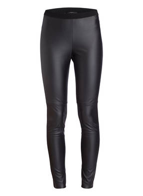 SET Leggings in Lederoptik
