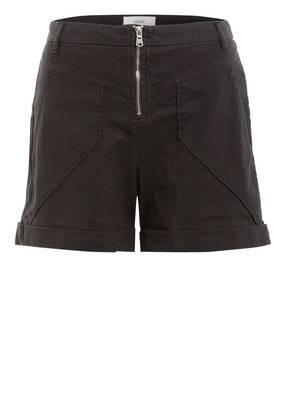 ba&sh Shorts DOZE mit Leinen
