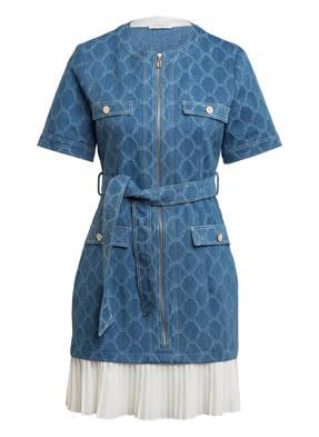 sandro Kleid mit Rüschenbesatz