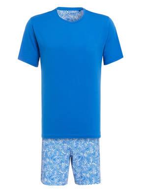 SCHIESSER Shorty-Schlafanzug NAUTICS