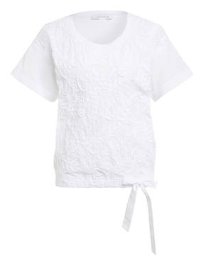just white Blusenshirt