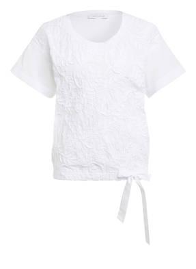 just white Blusenshirt