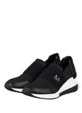 MICHAEL KORS Plateau-Sneaker FELIX mit Schmucksteinbesatz