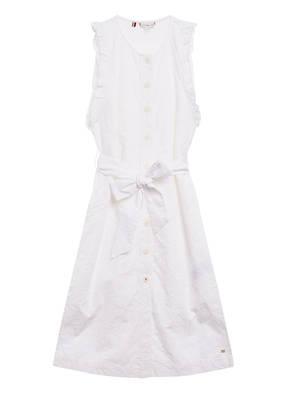 TOMMY HILFIGER Kleid RUBI aus Lochspitze