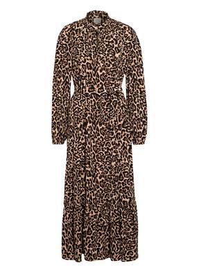 BAUM UND PFERDGARTEN Kleid ANTOINETTE mit Rüschenbesatz